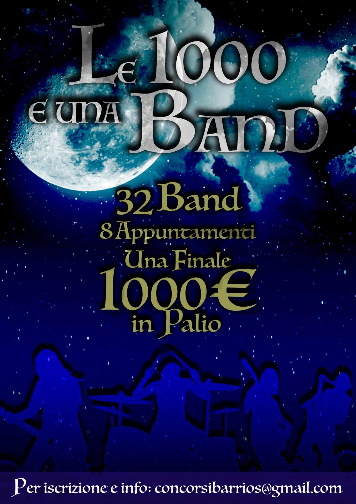 concorso musicale 1000€ in palio