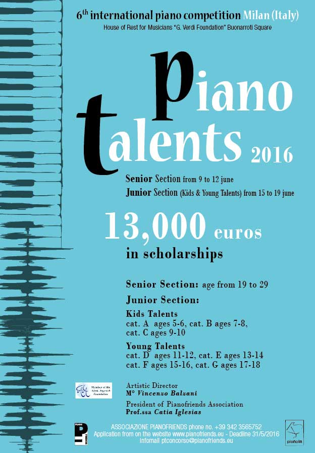 Pianotalents Competition