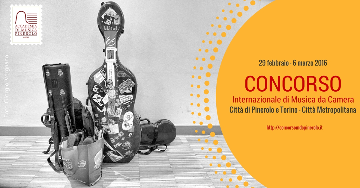 Concorso Internazionale di Musica da Camera - Città di Pinerolo e Torino – Città Metropolitana