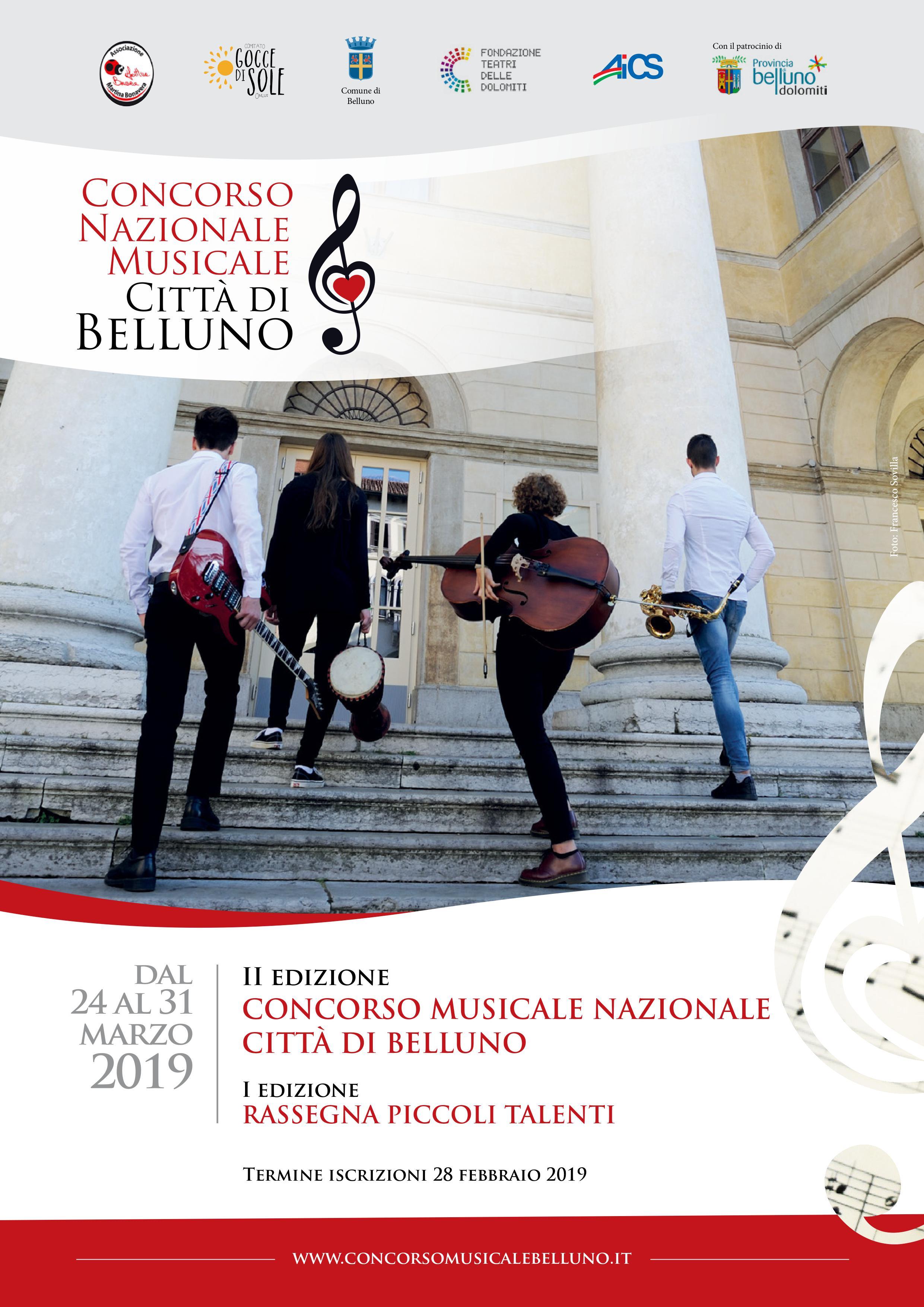 Concorso Musicale Città di Belluno 2019