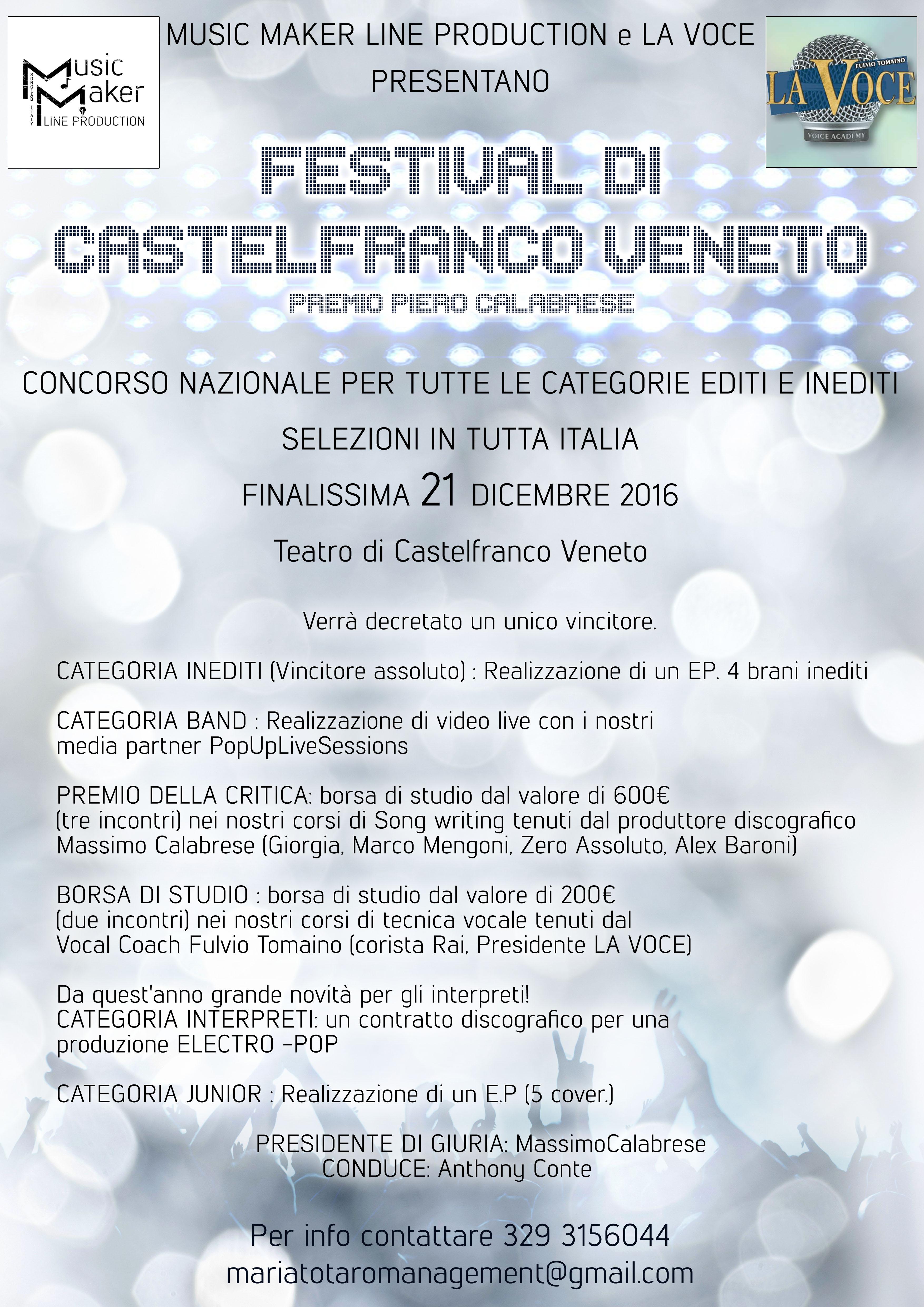 Festival di Castelfranco Veneto