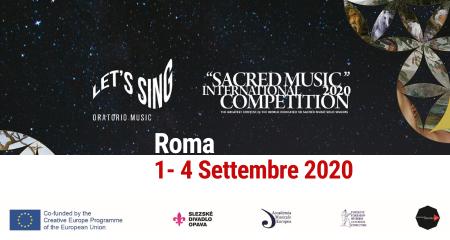 Il Concorso Musica Sacra è confermato dal 1 al 4 settembre. Fino al 15 luglio iscrizioni aperte