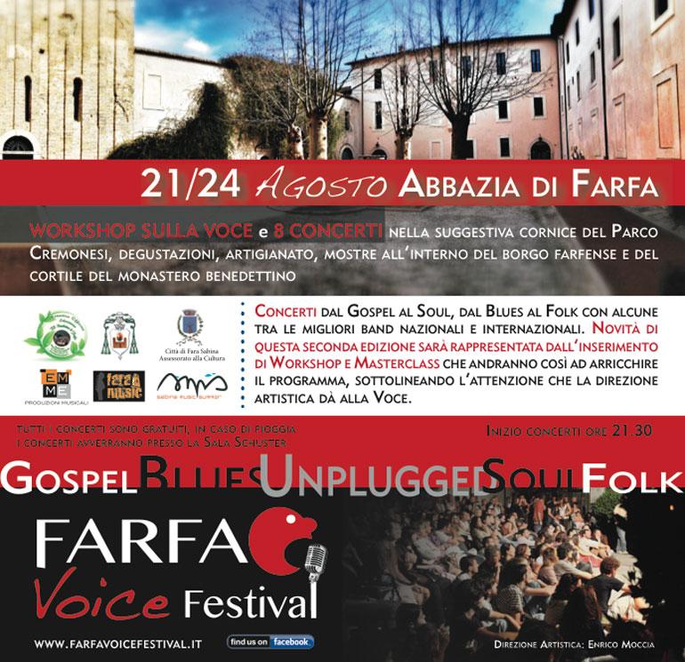 Farfa Voice festival 2014