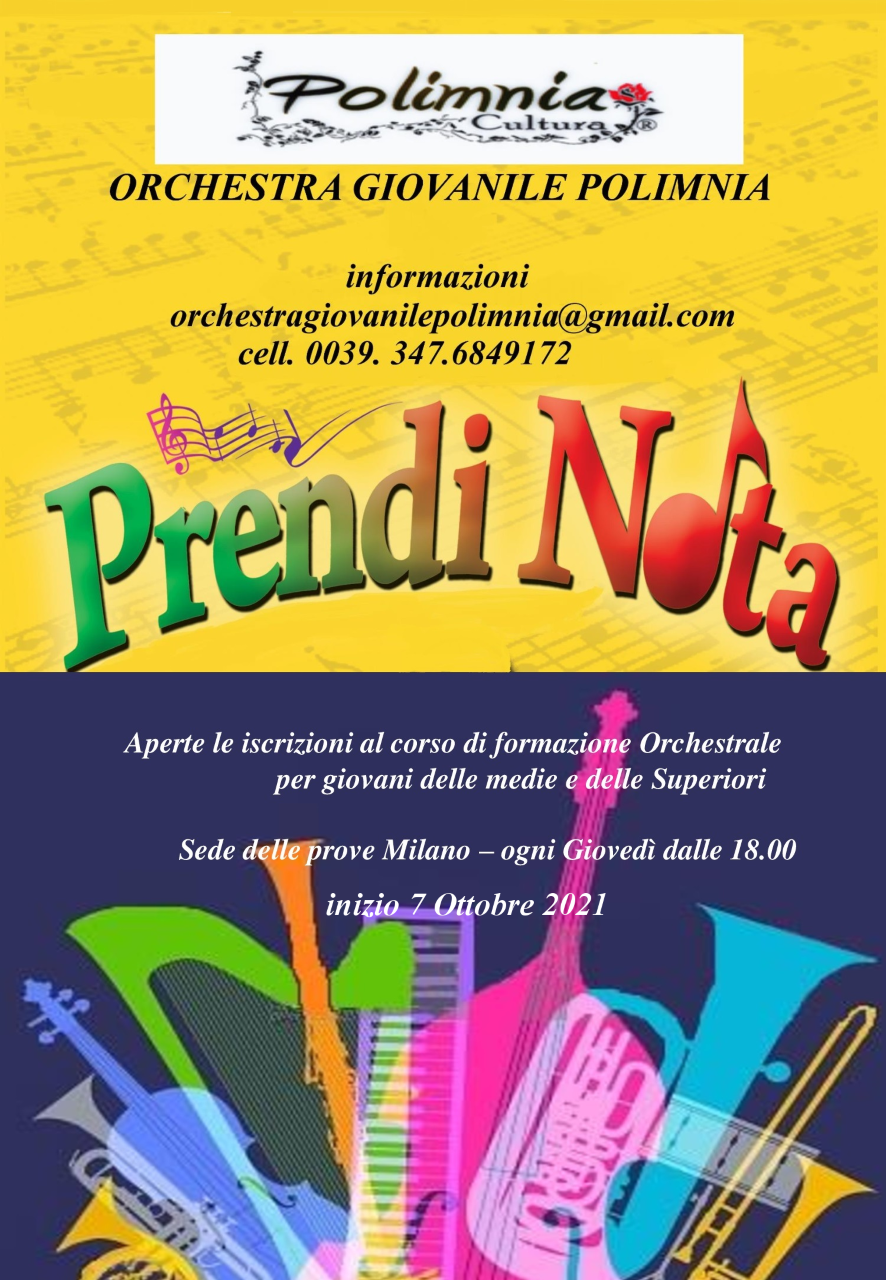 Orchestra Giovanile Polimnia - Corso di formazione d'orchestra
