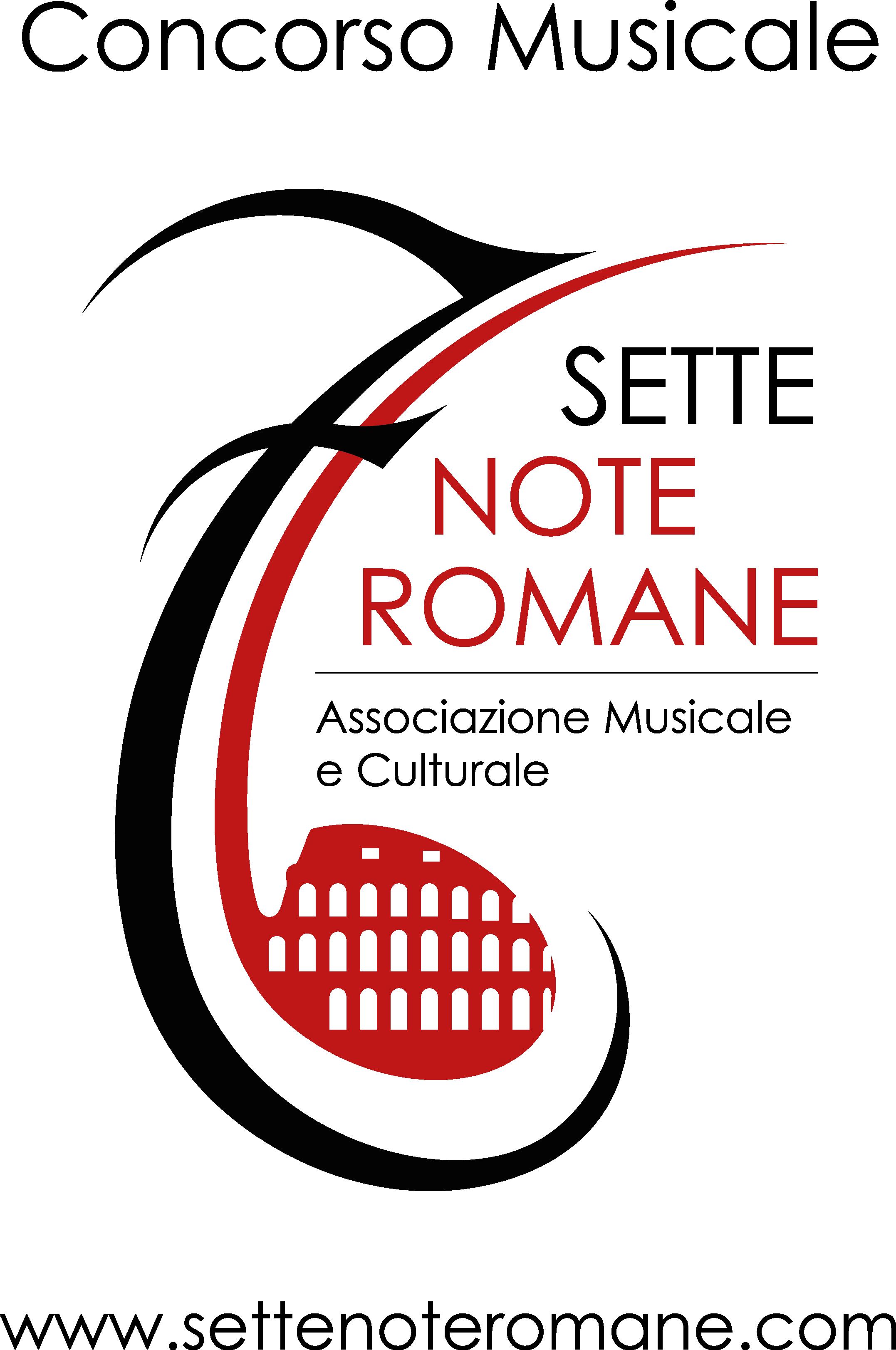 """Concorso Musicale Nazionale """"7 Note Romane"""""""
