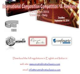 """International Composition Competition """"A. Rendano"""""""