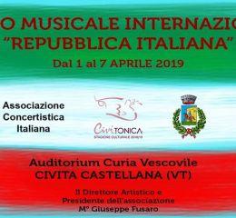 """PREMIO MUSICALE INTERNAZIONALE """"REPUBBLICA ITALIANA"""""""