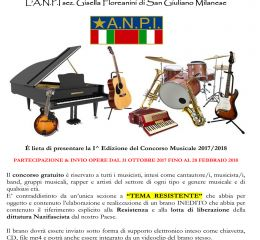 Bando Musicale Concorso Nazionale 1^ pagina