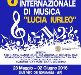 """6° CONCORSO INTERNATIONALE DI MUSICA """"LUCIA IURLEO"""""""