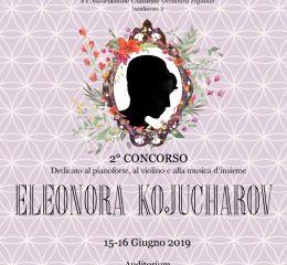 Concorso Musicale Eleonora Kojucharov 2019