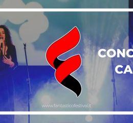 Concorso canoro musicale 2020 Fantastico Festival