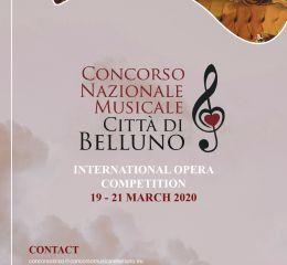 Concorso Internazionale di canto Lirico Città di Belluno