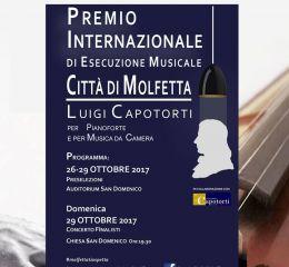 Manifesto del Concorso Musicale Internazionale Città di Molfetta