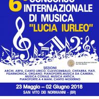 "6° CONCORSO INTERNATIONALE DI MUSICA ""LUCIA IURLEO"""