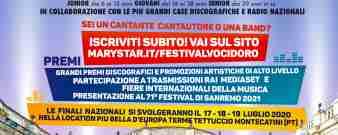 Bando iscrizione Festival Voci d'Oro 2020