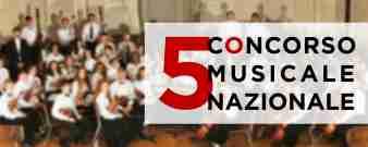 """5° Concorso Musicale Nazionale """"7 Note romane"""""""