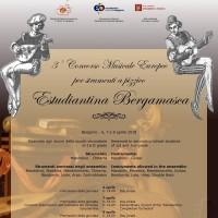 Ritratto di III Concorso Musicale Europeo Estudiantina Bergamasca